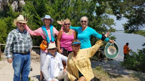 LCHCT Kayaking at Cedar Key 6-17-2020 Dave,Kathie,Cheryl Katherine..two others..